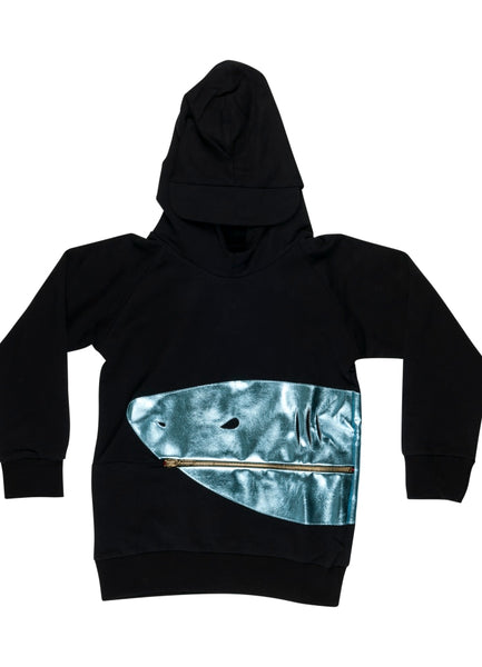 Scary Larry Shark Hoodie