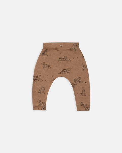 Bronze Tiger Slouch Pant