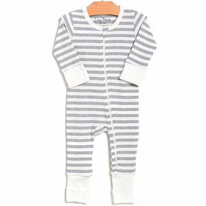 2 Way Zip Stripe Romper