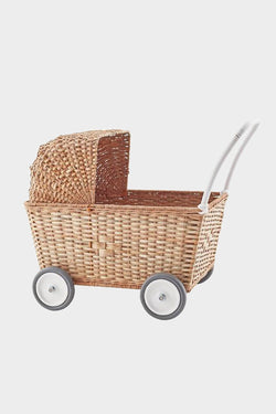 strolley natural brown stroller trolley