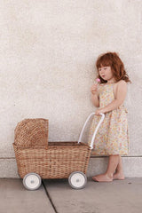 strolley natural brown stroller trolley girl