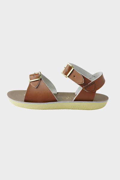 Surfer Leather Sandal Tan