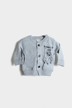 little pilgrim, take it easy baby cardigan