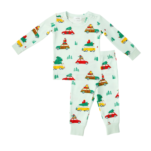 Trees On Cars Lounge Wear Set