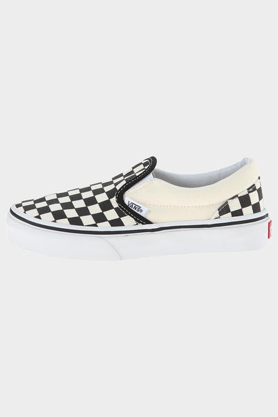 B&W Checkerboard Classic Slip-On