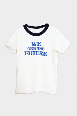 bee & fox we are the future tee