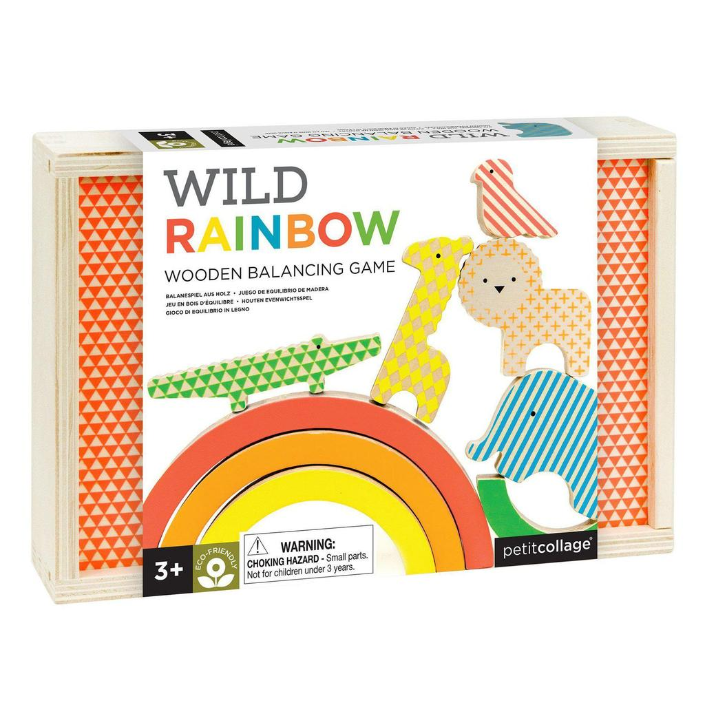 Wooden Balancing Game - Wild Rainbow