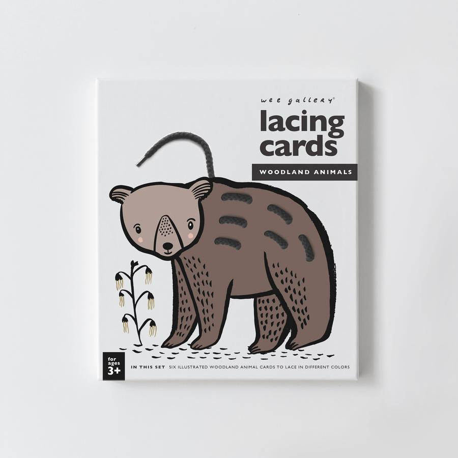 Lacing Cards- Woodland Animals