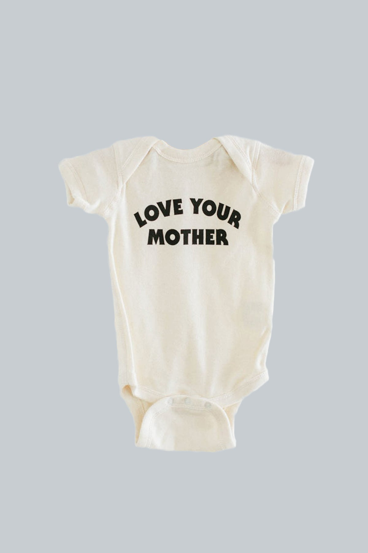 Love Your Mother Natural Onesie