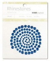 Rhinestones - Dark Blue