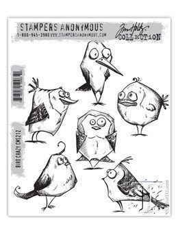 Bird Crazy Stamps