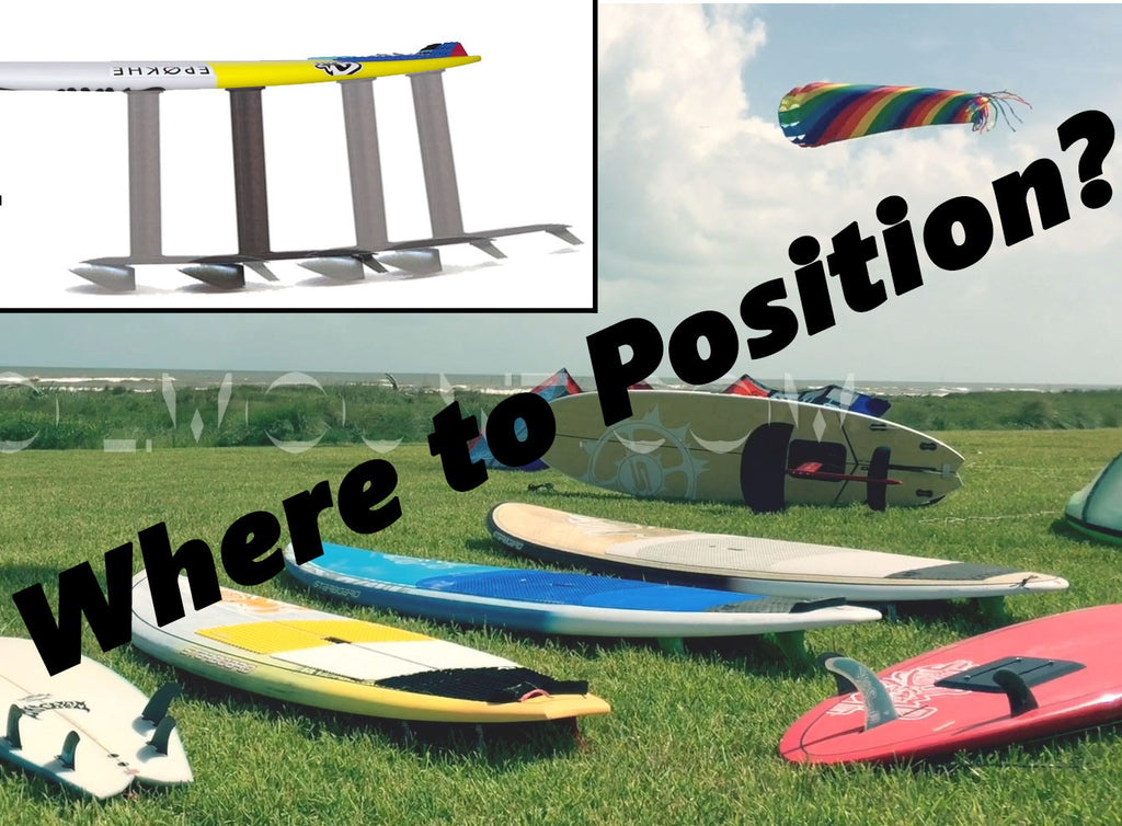 FoilMount Hydrofoil Mounting Position Guide