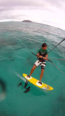 Gunnar Biniasch In Photo kitesurfing hydrofoil