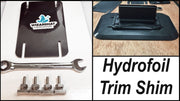 Trim Shim Stackable Hydrofoil Shimming System