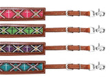 Beaded Cross Wither Straps