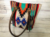 Wool Saddle Blanket Handbag - Totes