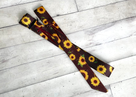 Sunflower Cinch Strap Set