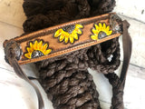 Sunflower Muletape Halter