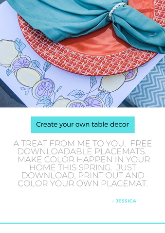 create your own table decor