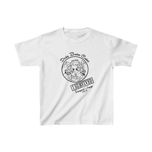 Inaugural Voyage Derby Bruise Cruise Crew Kids Heavy Cotton™ Tee