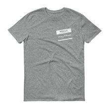 """Hi, My Pronouns Are"" - They/Then Short Sleeve Tee"