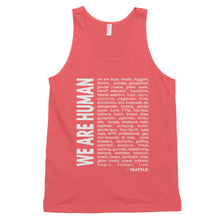 """We Are Human"" Tank"