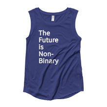 The Future is Non-Binary -  Cap Sleeve T-Shirt