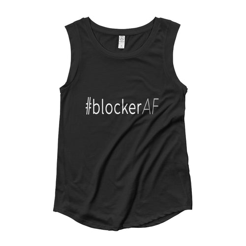 #blockerAF - Cap Sleeve T-Shirt