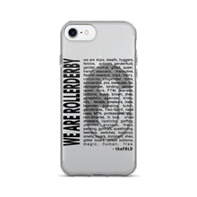 """WE ARE ROLLERDERBY"" iPhone 7/7 Plus Case"