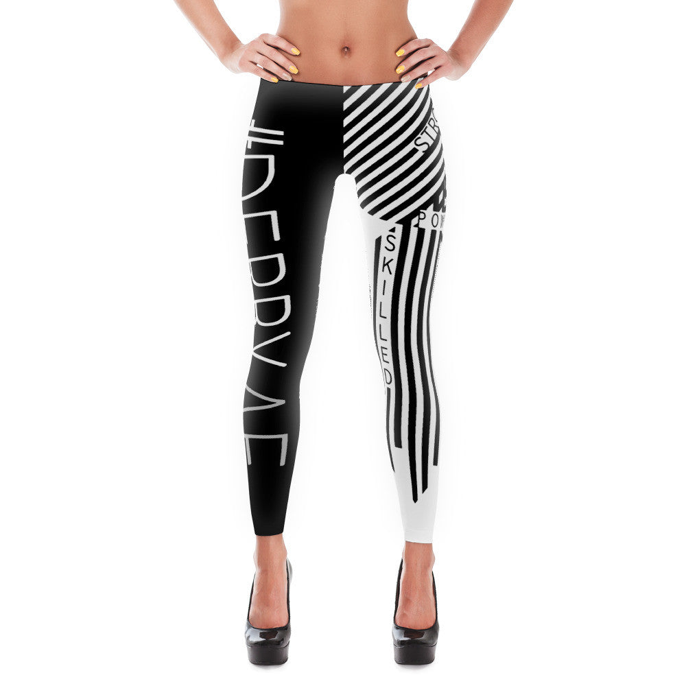 #derbyAF - Strong, Powerful, Smart, Skilled Leggings