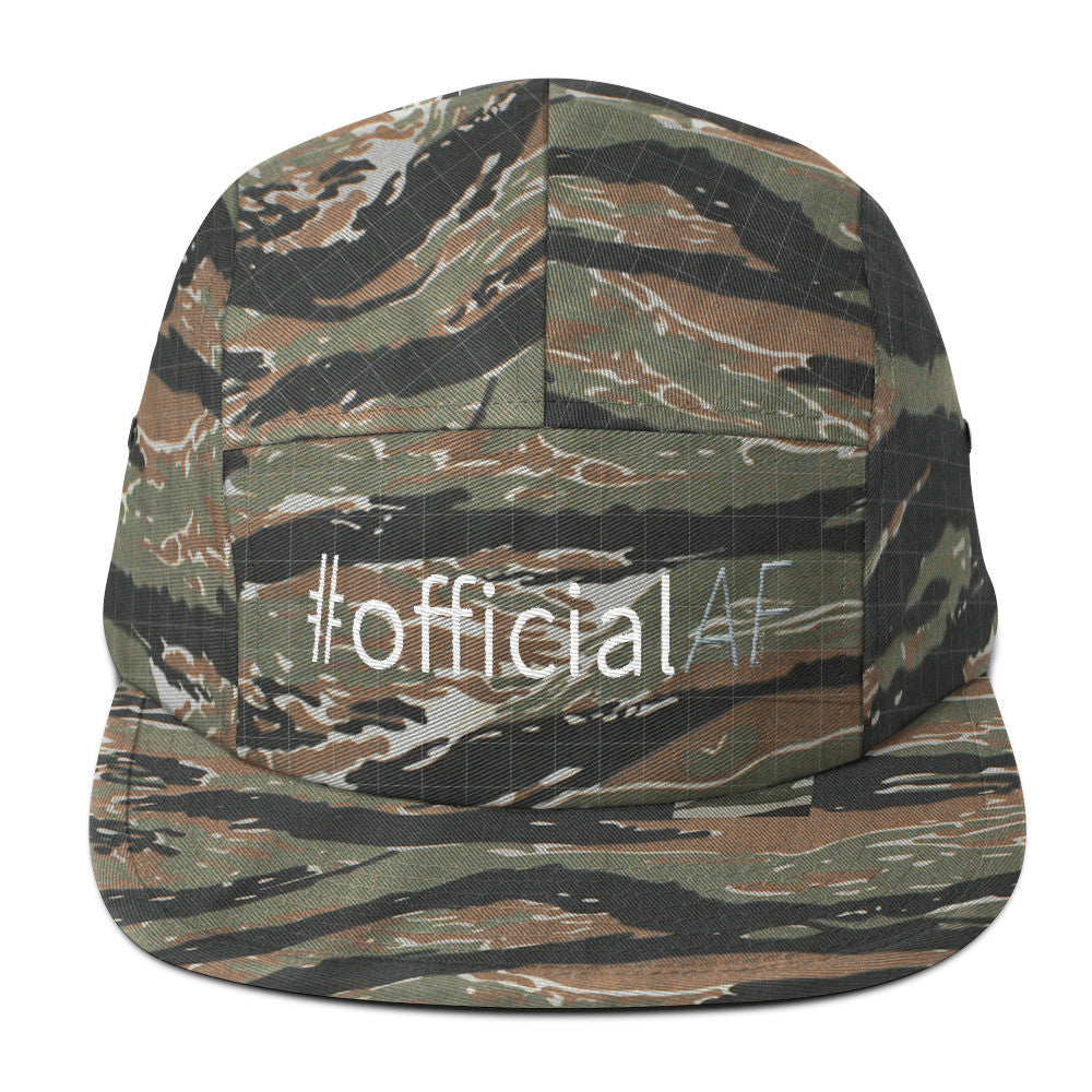 #officialAF - Five Panel Cap