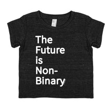 The Future is Non-Binary - Tiny Human Tri-Blend Short-Sleeve Tee