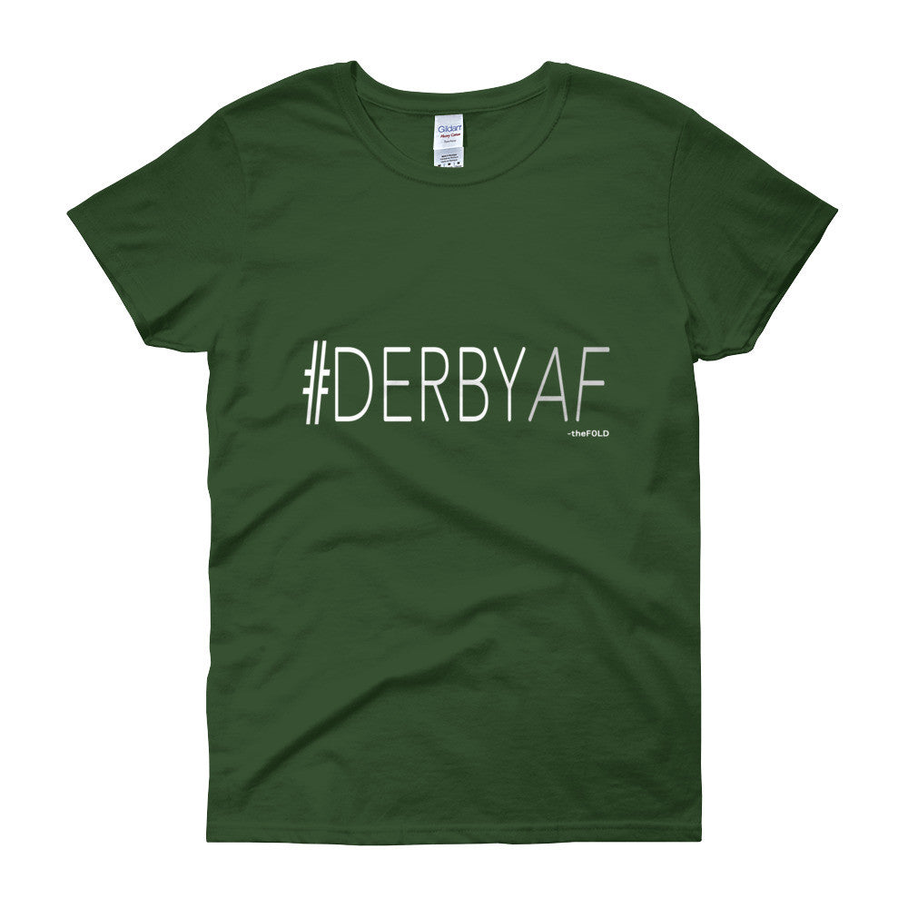 #DERBYAF - Short sleeve Fitted t-shirt