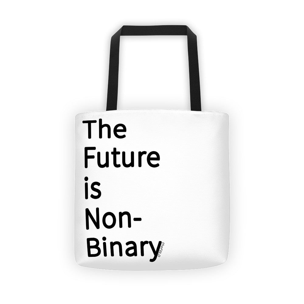 The Future is Non-Binary - Tote bag