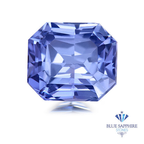 1.13 ct. Square Radiant Blue Sapphire