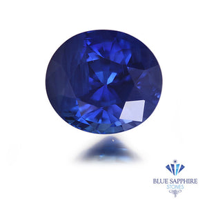 1.32 ct. Oval Blue Sapphire