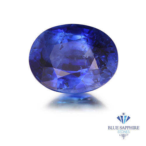 1.13 ct. Oval Blue Sapphire