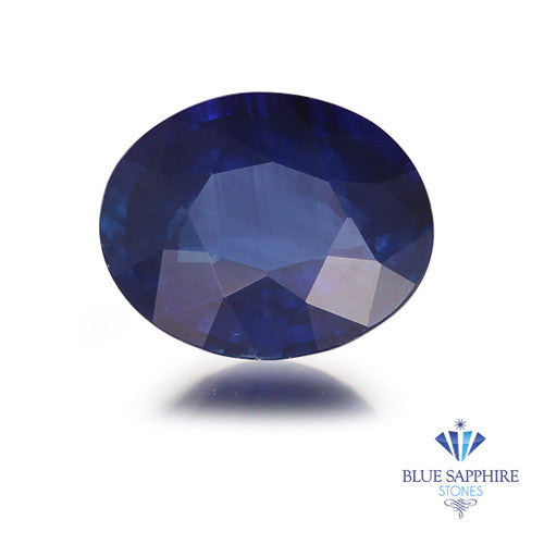 0.93 ct. Oval Blue Sapphire
