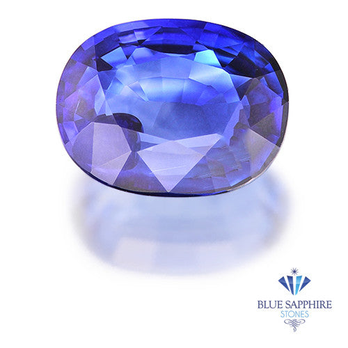 1.35 ct. Oval Blue Sapphire