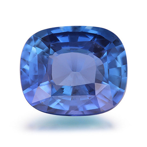1.68 ct. Unheated Cushion Blue Sapphire