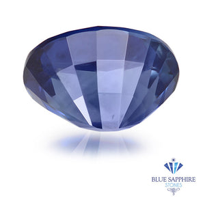 0.62 ct. Unheated Oval Blue Sapphire