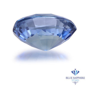 1.13 ct. Unheated Oval Blue Sapphire