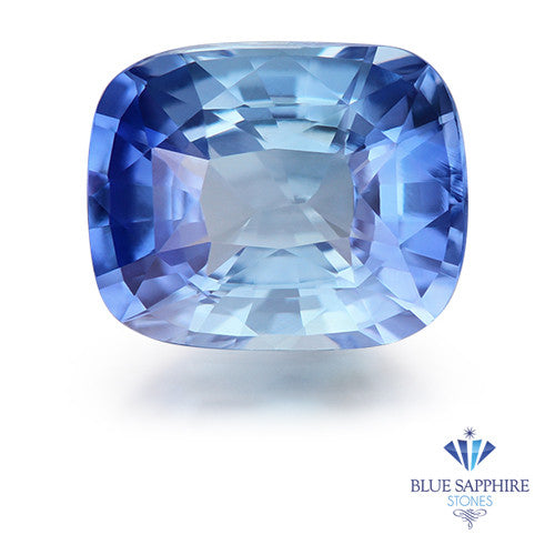 1.53 ct. Unheated Cushion Blue Sapphire