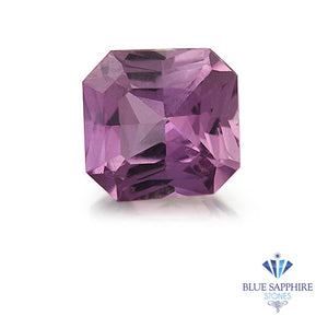 1.59 ct. Square Radiant Pink Sapphire