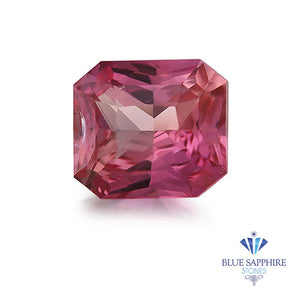 1.27 ct. Radiant Pink Sapphire