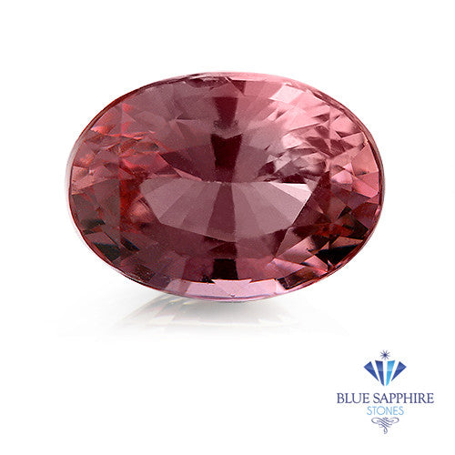1.43 ct. GIA Certified Oval Pink Sapphire