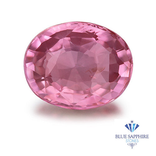 1.35 ct. GIA Certified Unheated Oval Pink Sapphire