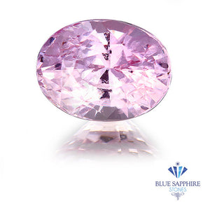 1.51 ct. Unheated Oval Cut Pink Sapphire
