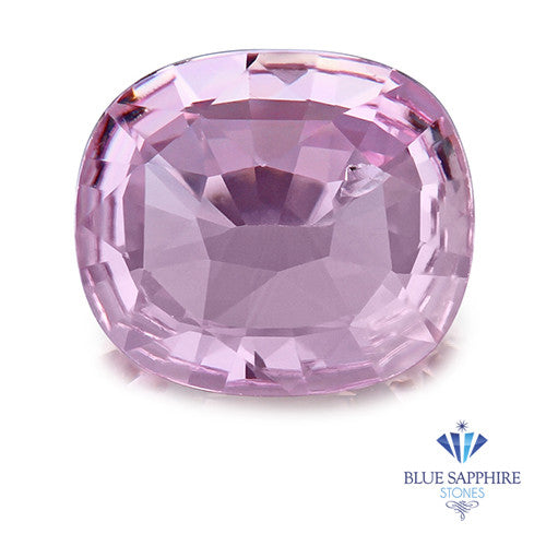 0.86 ct. Unheated Cushion Cut Pink Sapphire