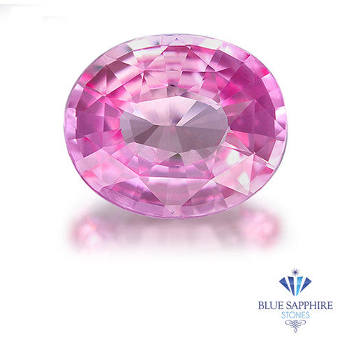 1.82 ct. Unheated Oval Cut Pink Sapphire
